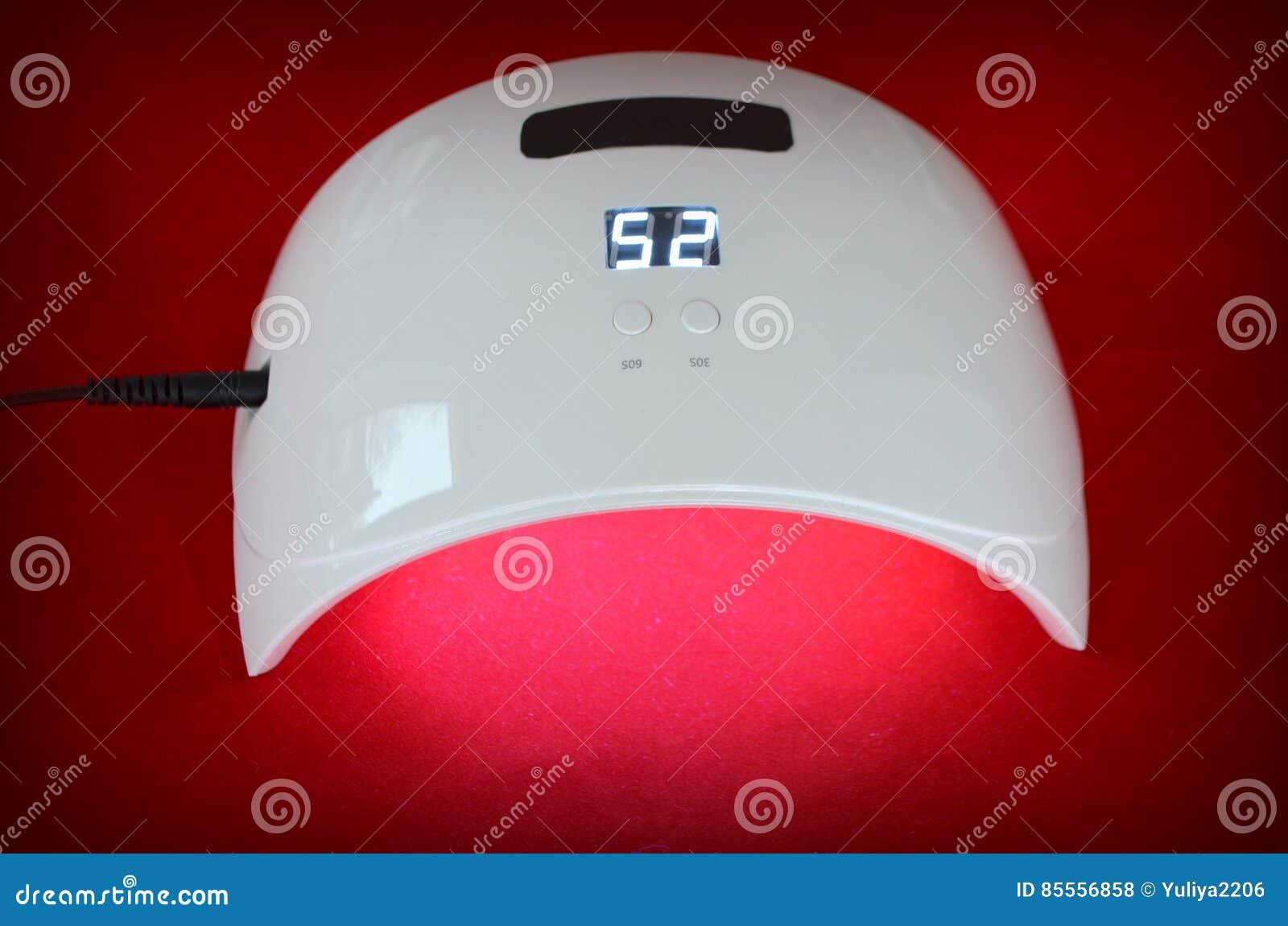 Nagelgelsalon UVlampe mit Timer