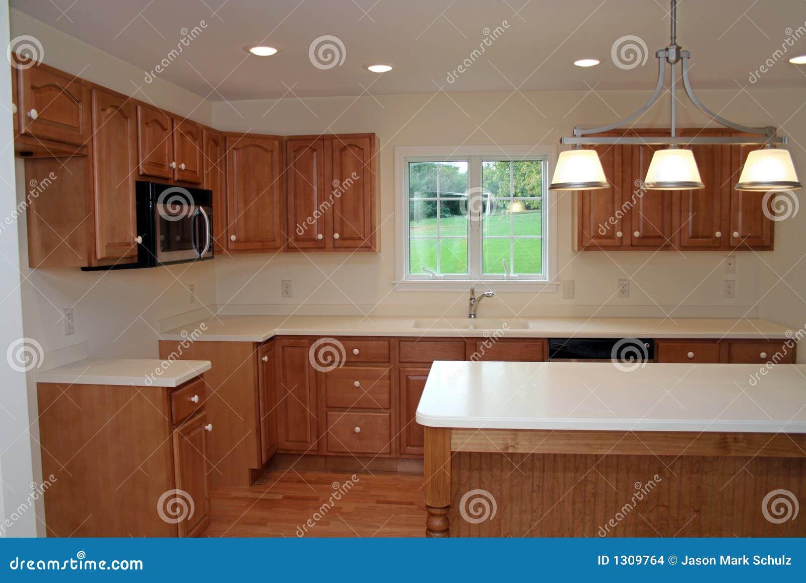 Download Nagelneue Moderne Küche 2 Stockfoto. Bild Von Bewegung   1309764