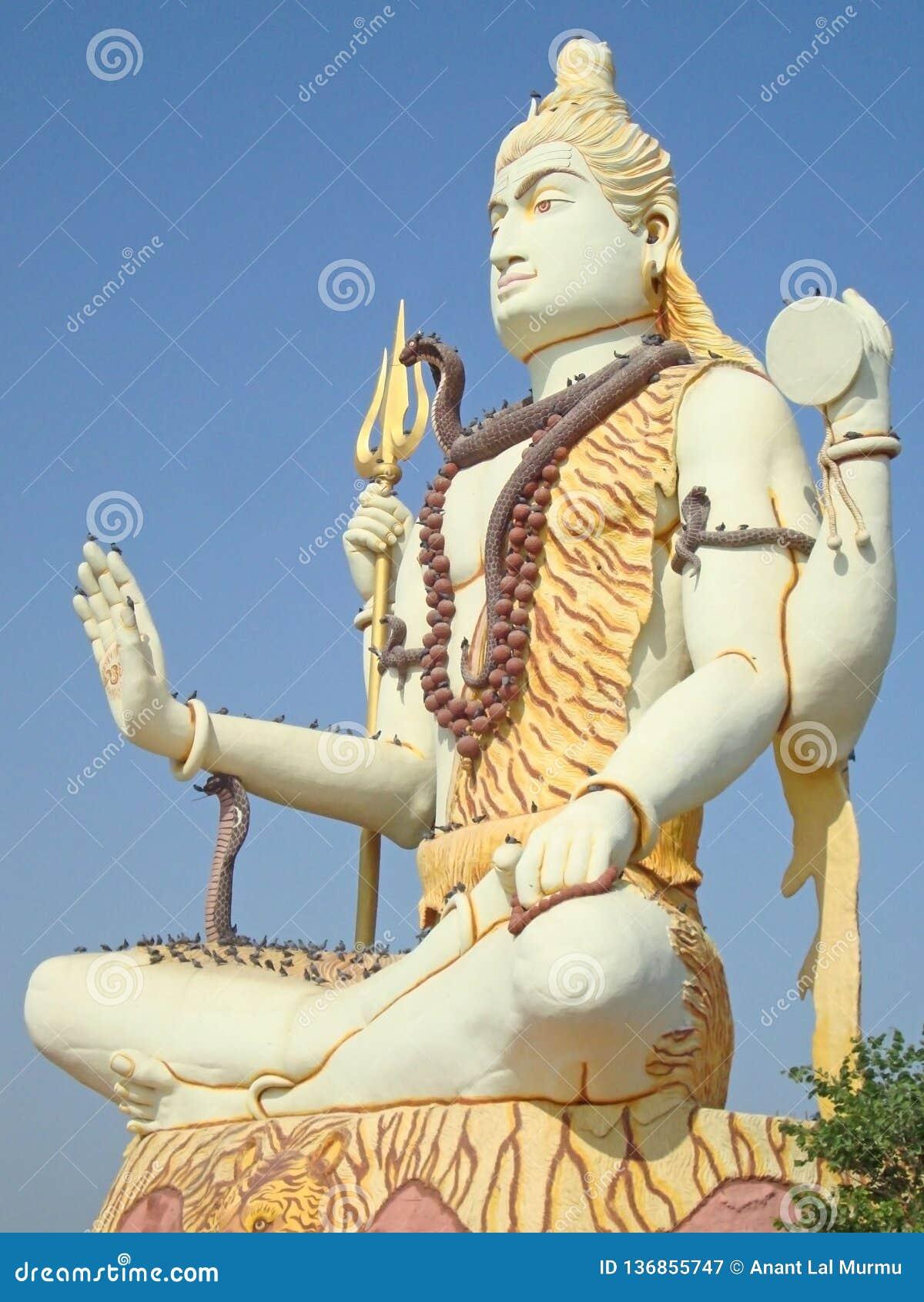 Lord Shiva Statue in Gujarat