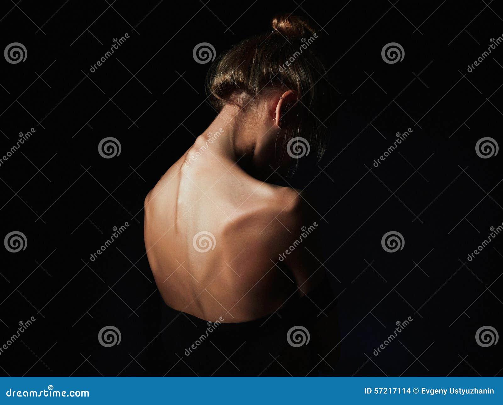 Zakończenie W Górę Kobiety W żółtych Gumowych Rękawiczkach