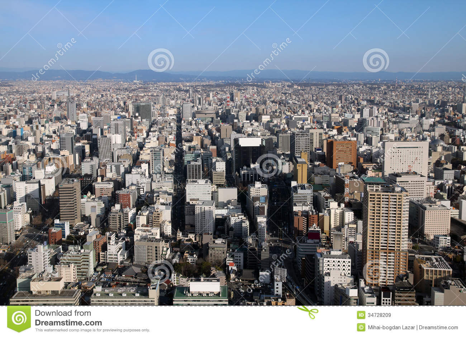 Nagoya aerial, Japan