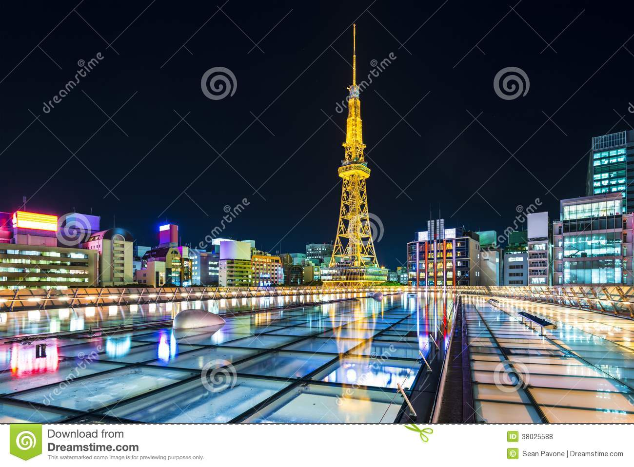 Nagoya, Japan Royalty Free Stock Photos - Image: 38025588