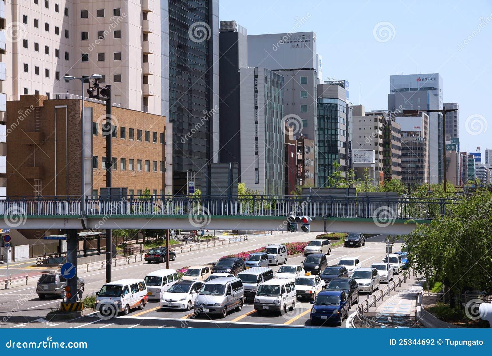 Nagoya ruch drogowy
