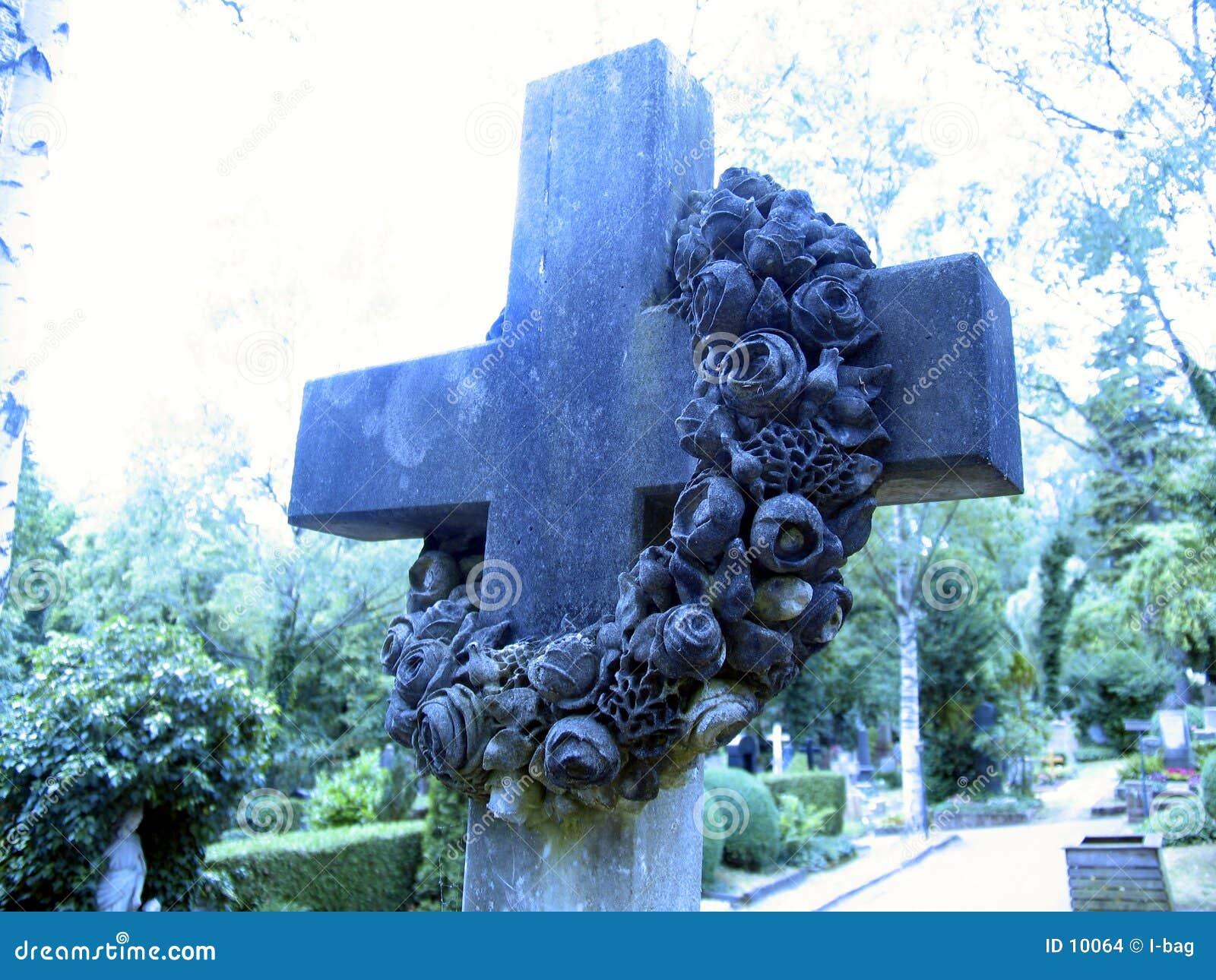 Nagrobek krzyż