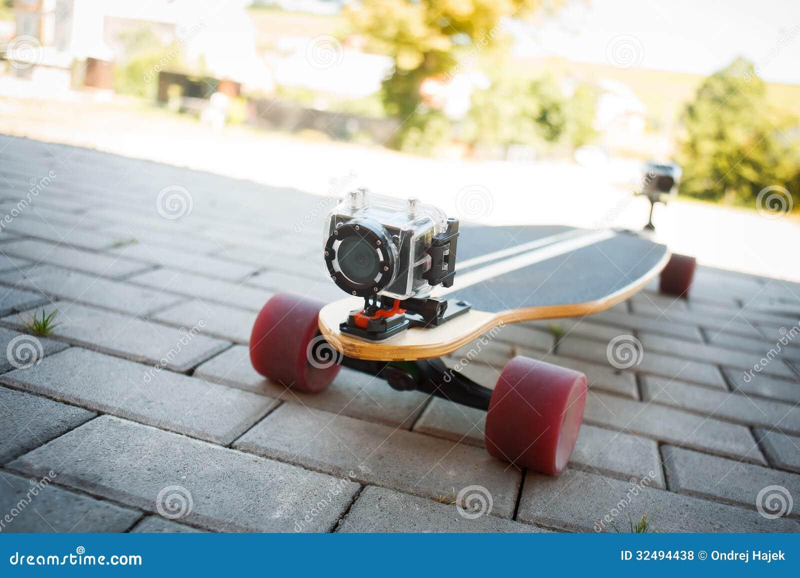 Nagrywać na wideo na longboard