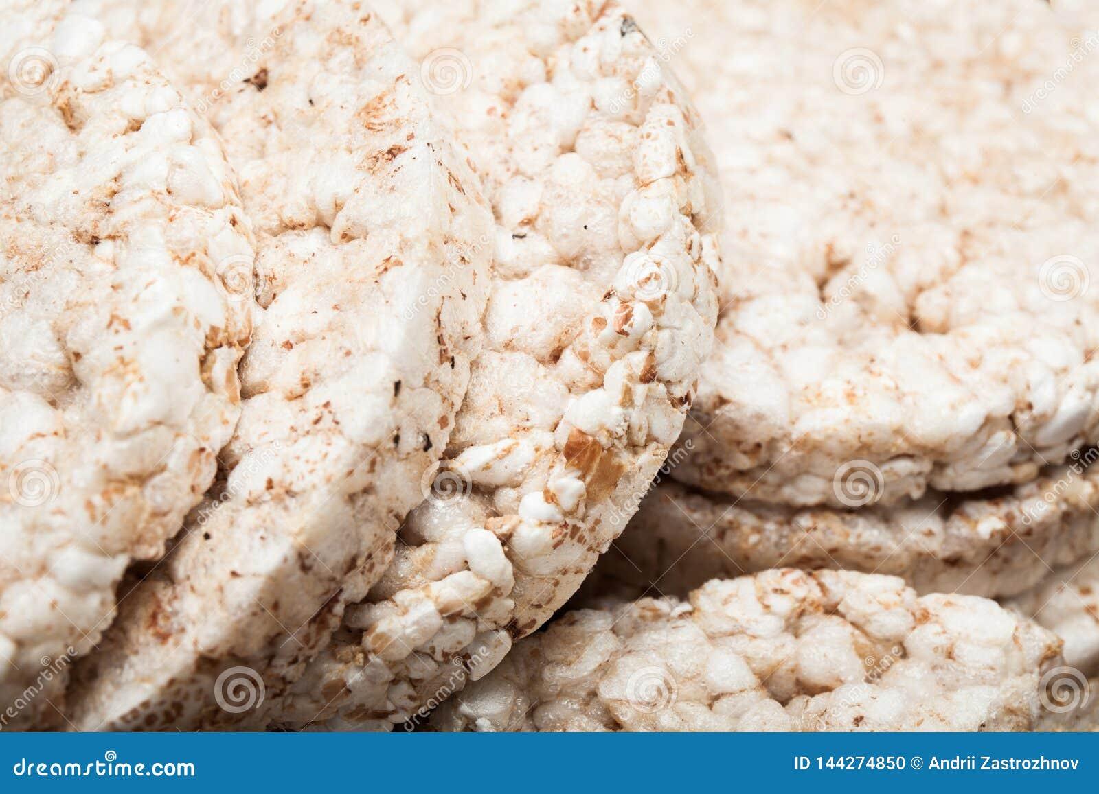 Nah oben, Brot von den ganzen Körnern, Hintergrund