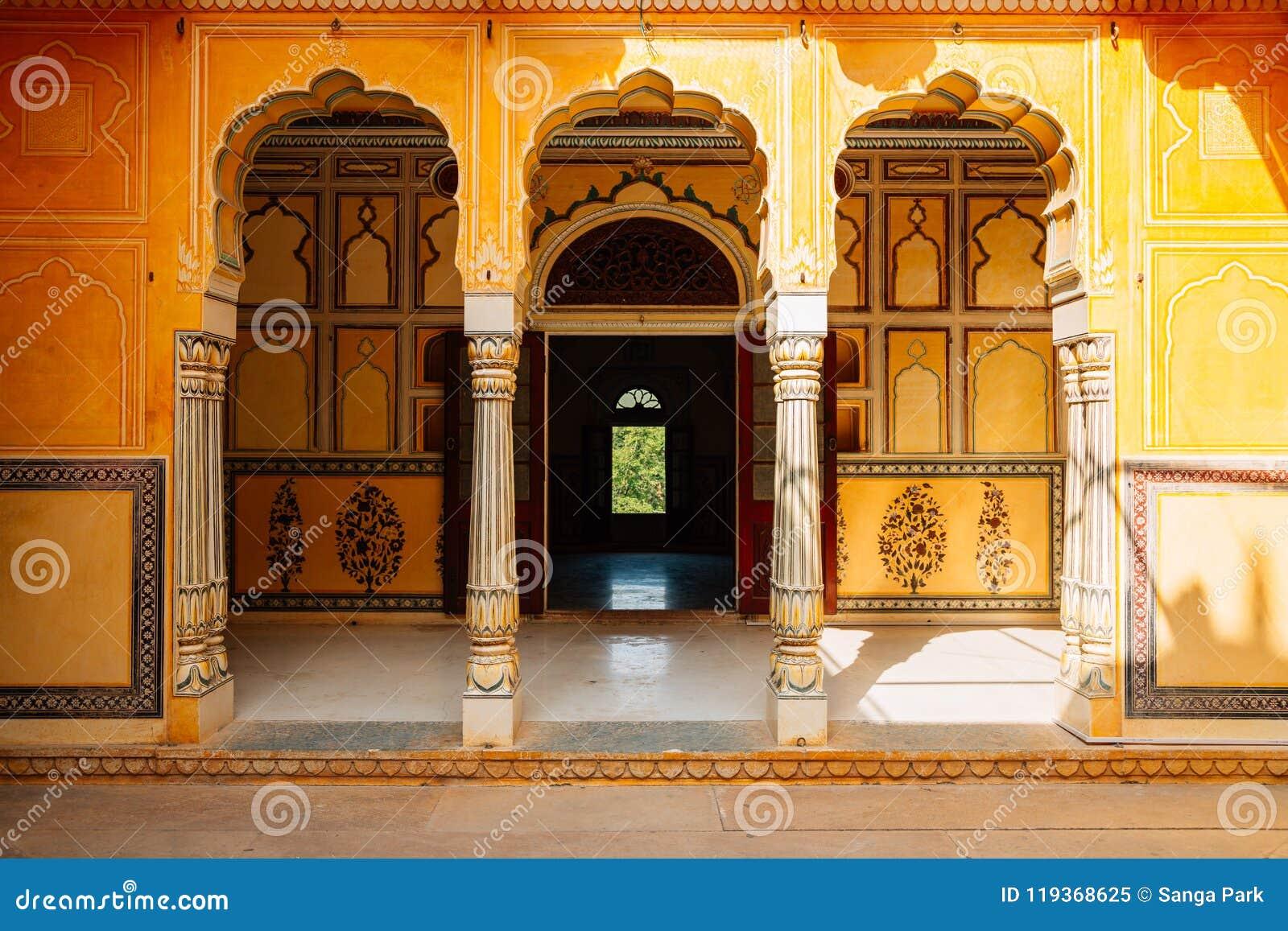 Nahargarh堡垒在斋浦尔,印度