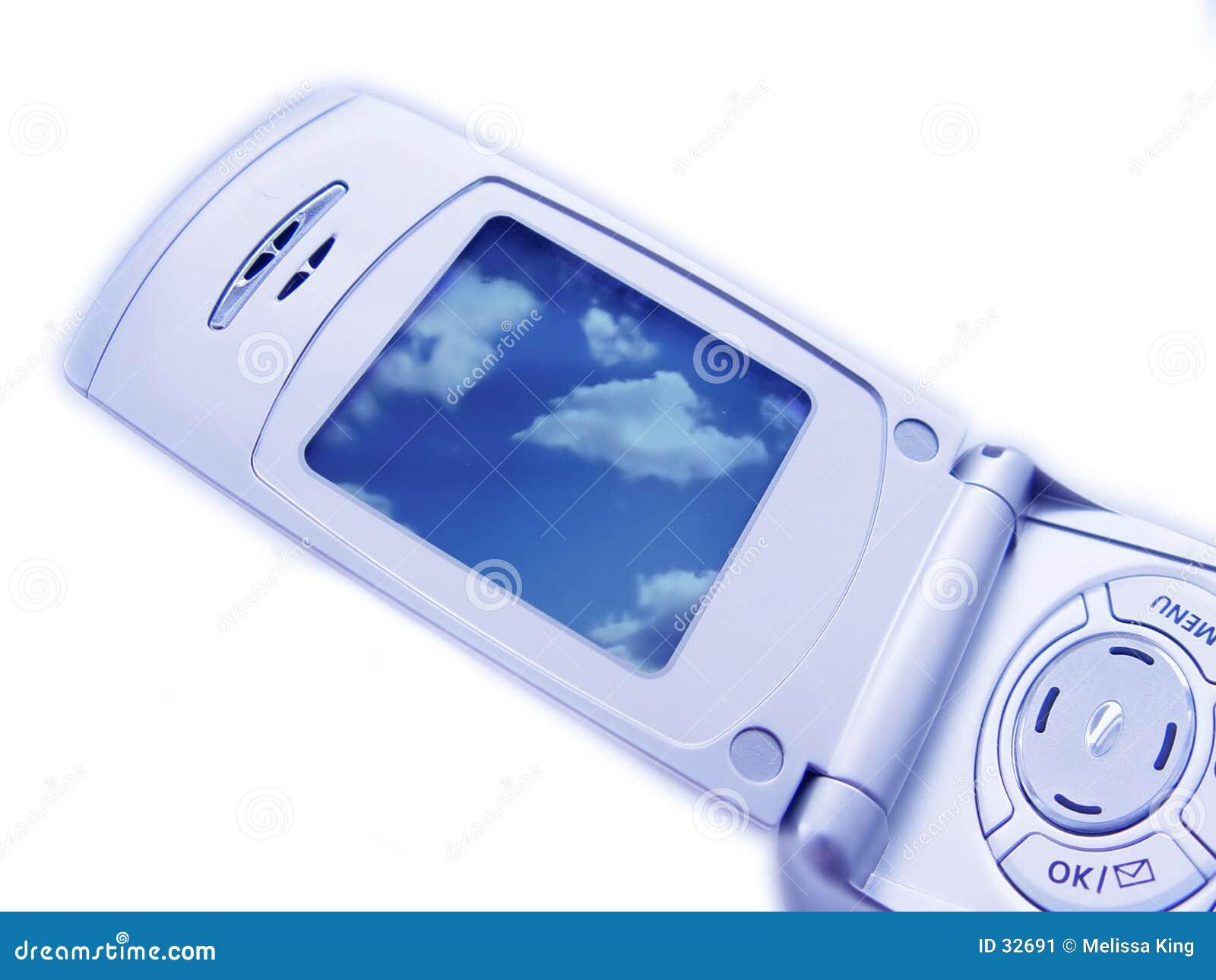 Nahaufnahme des Kamera-Telefons