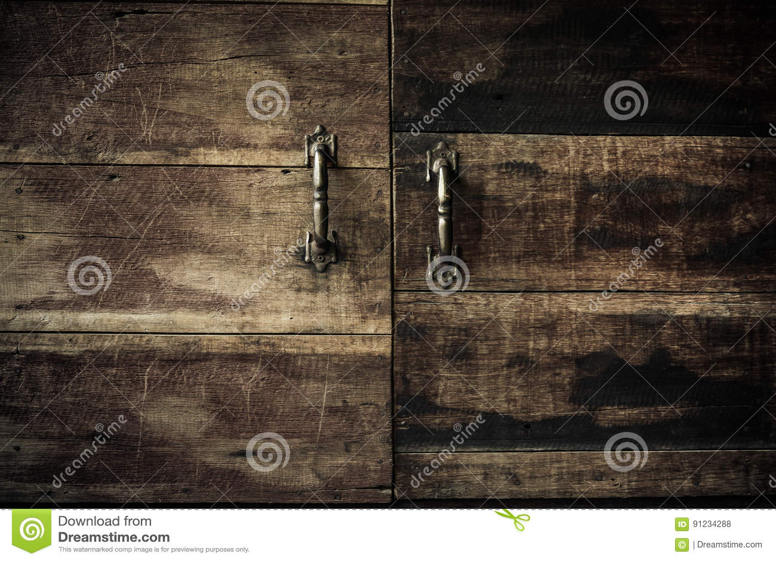 nahaufnahme-küchenschranktüren, weinleseton stockfoto - bild von
