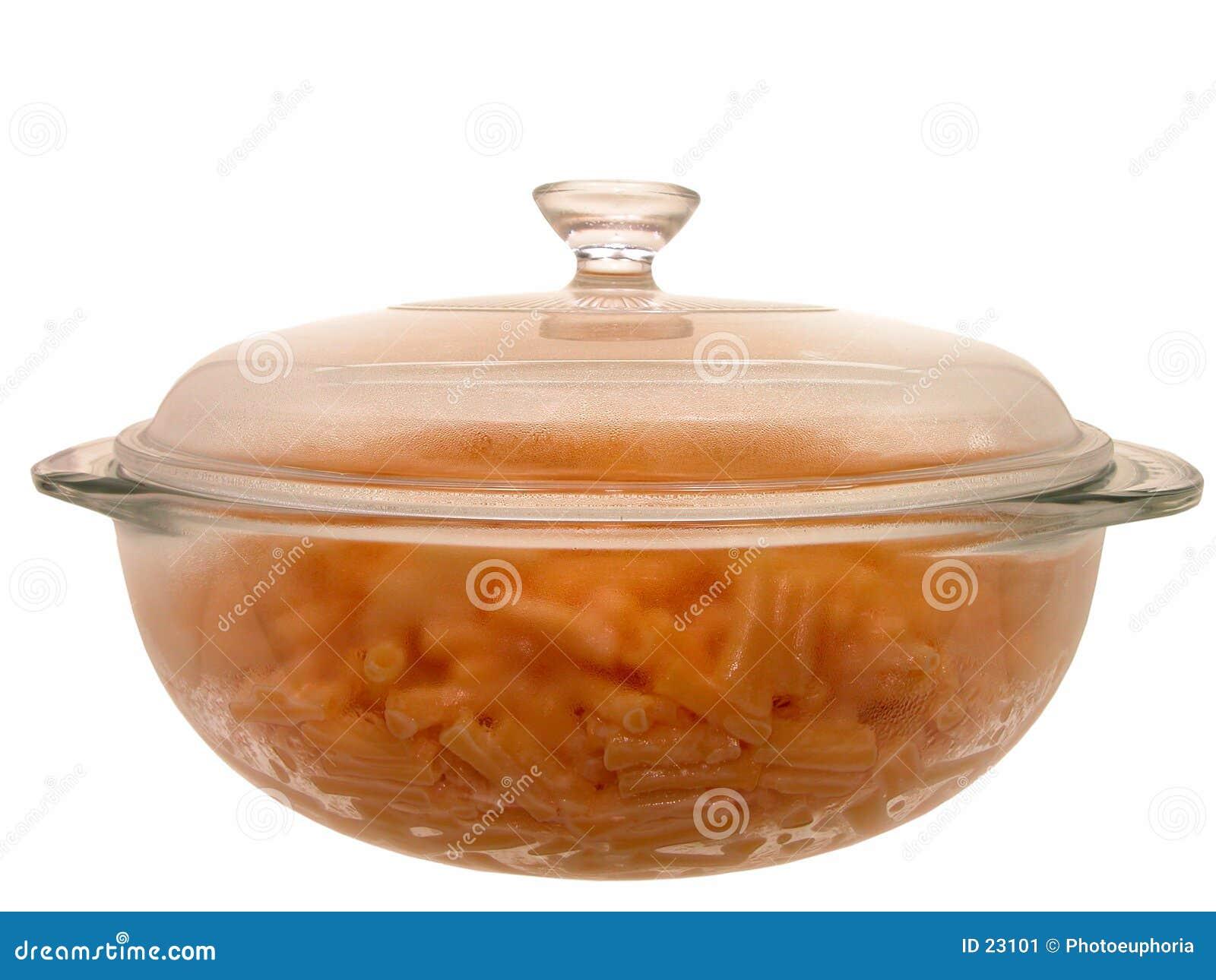 Nahrung: Gebackenes Makkaroni u. Käse