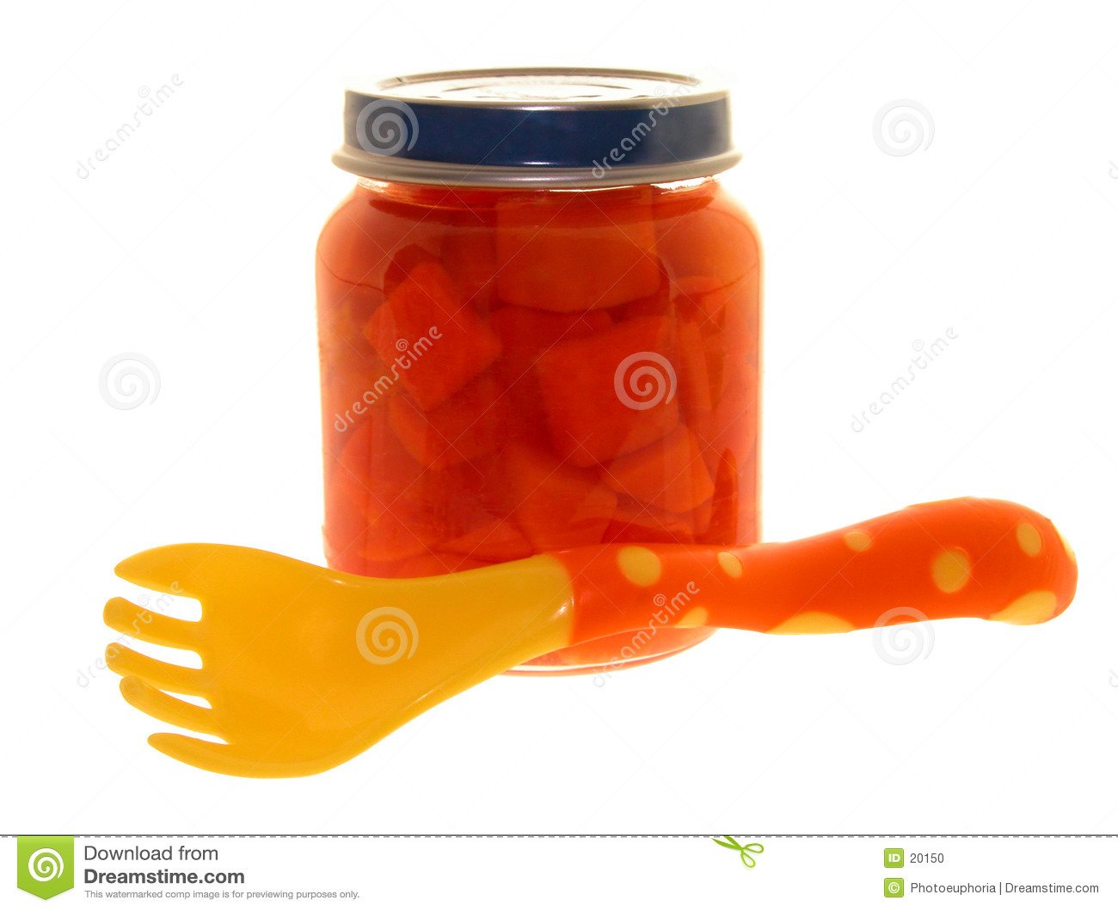 Nahrung: Glas Schätzchen-Karotten
