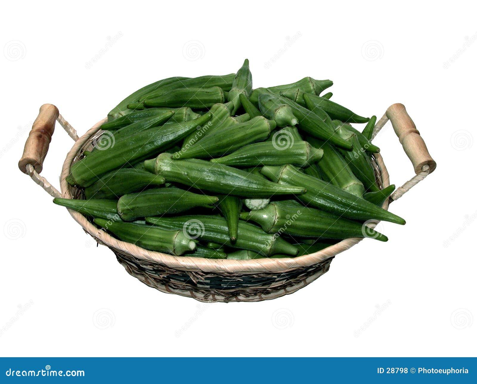 Nahrung: Korb des essbaren Eibisches