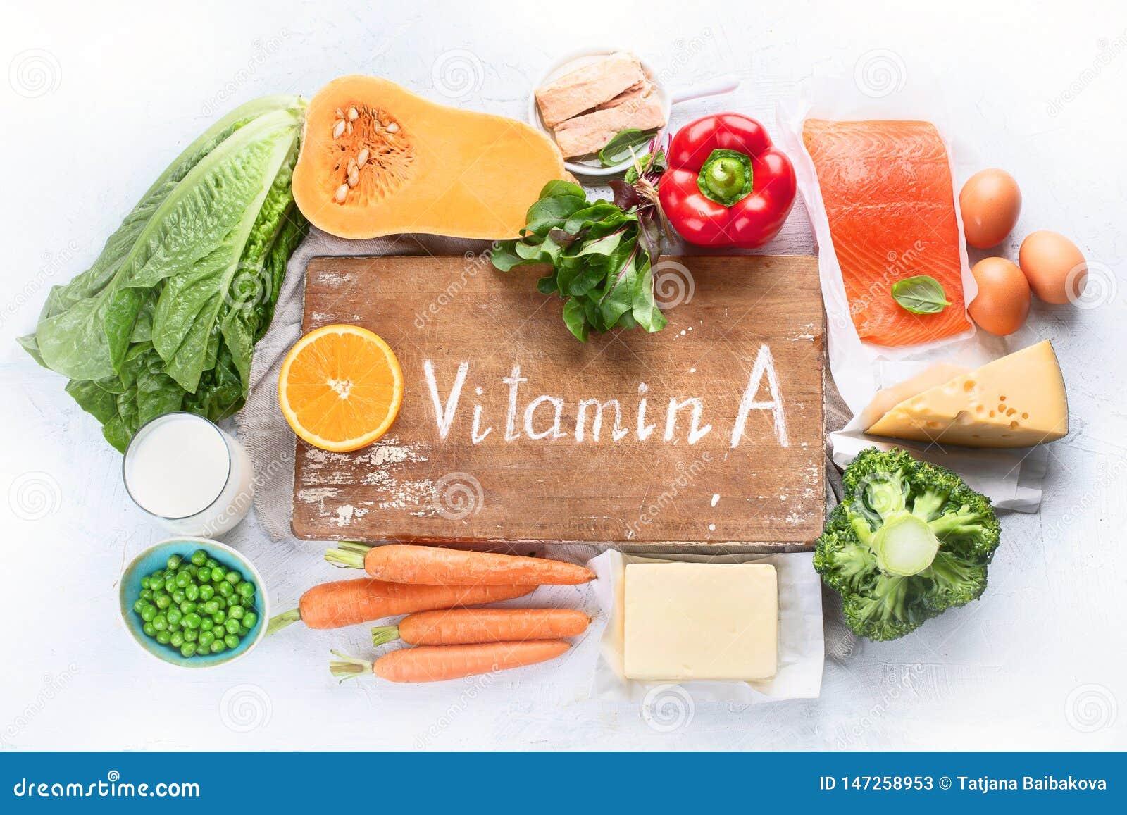 Nahrungsmittel reich im Vitamin A