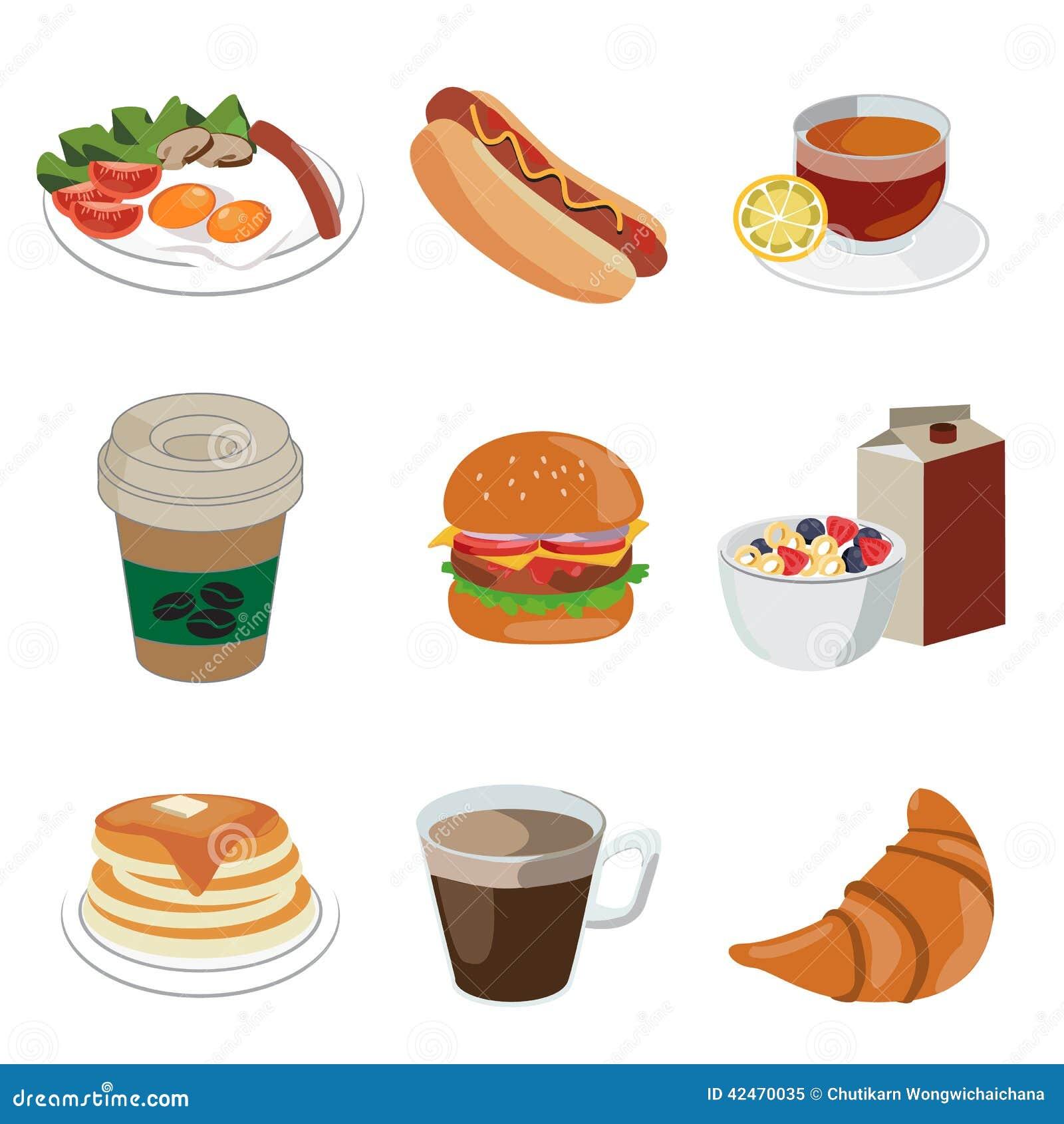 Nahrungsmittel und Getränkeikone