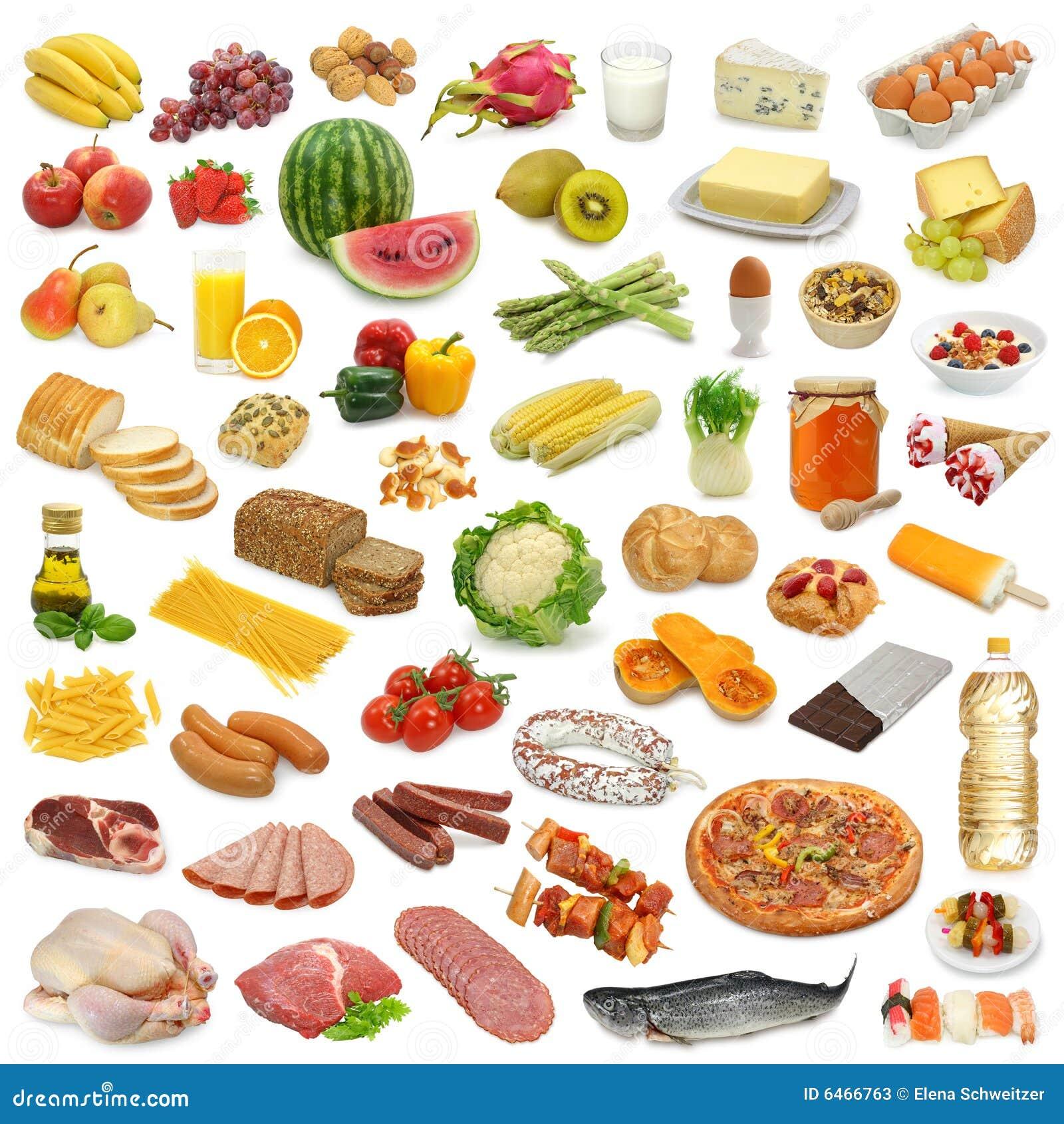 Nahrungsmittelansammlung