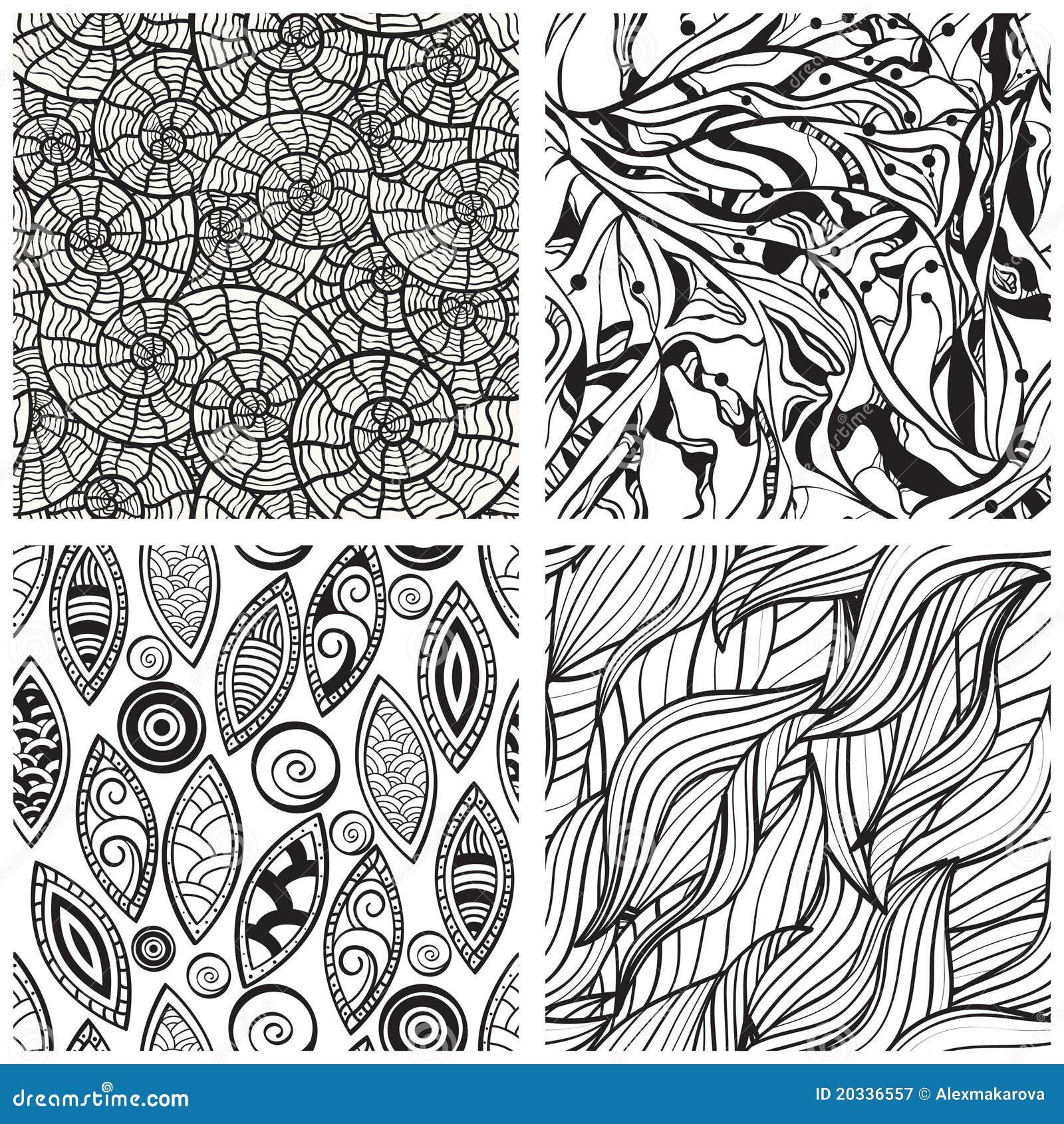 nahtlose abstrakte muster lizenzfreie stockfotografie bild 20336557. Black Bedroom Furniture Sets. Home Design Ideas