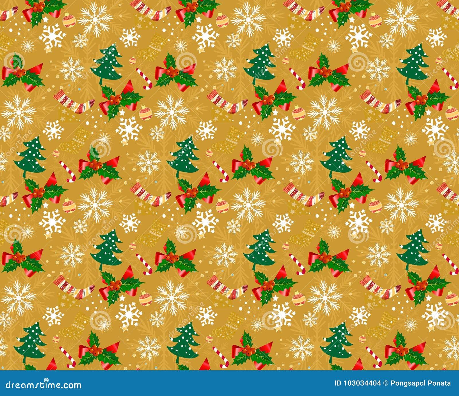 Nahtlose Hintergründe s des Weihnachtsmusters