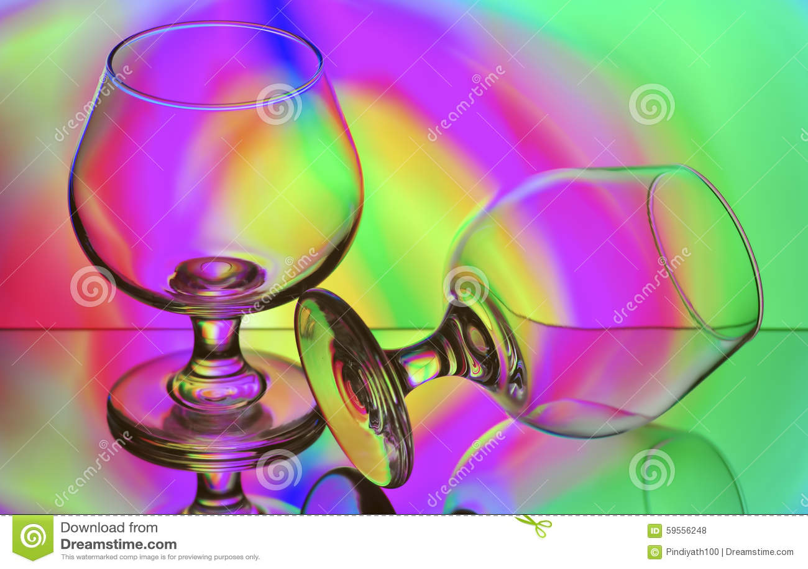 Nahtlose Reihen-Gläser