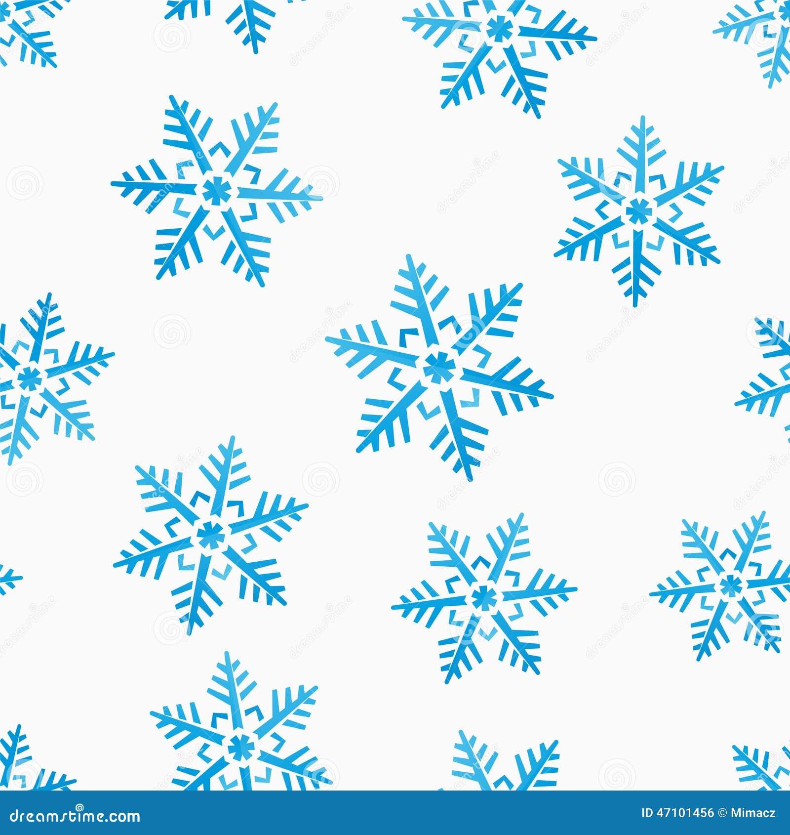 Nahtloser Hintergrund des abstrakten Winters