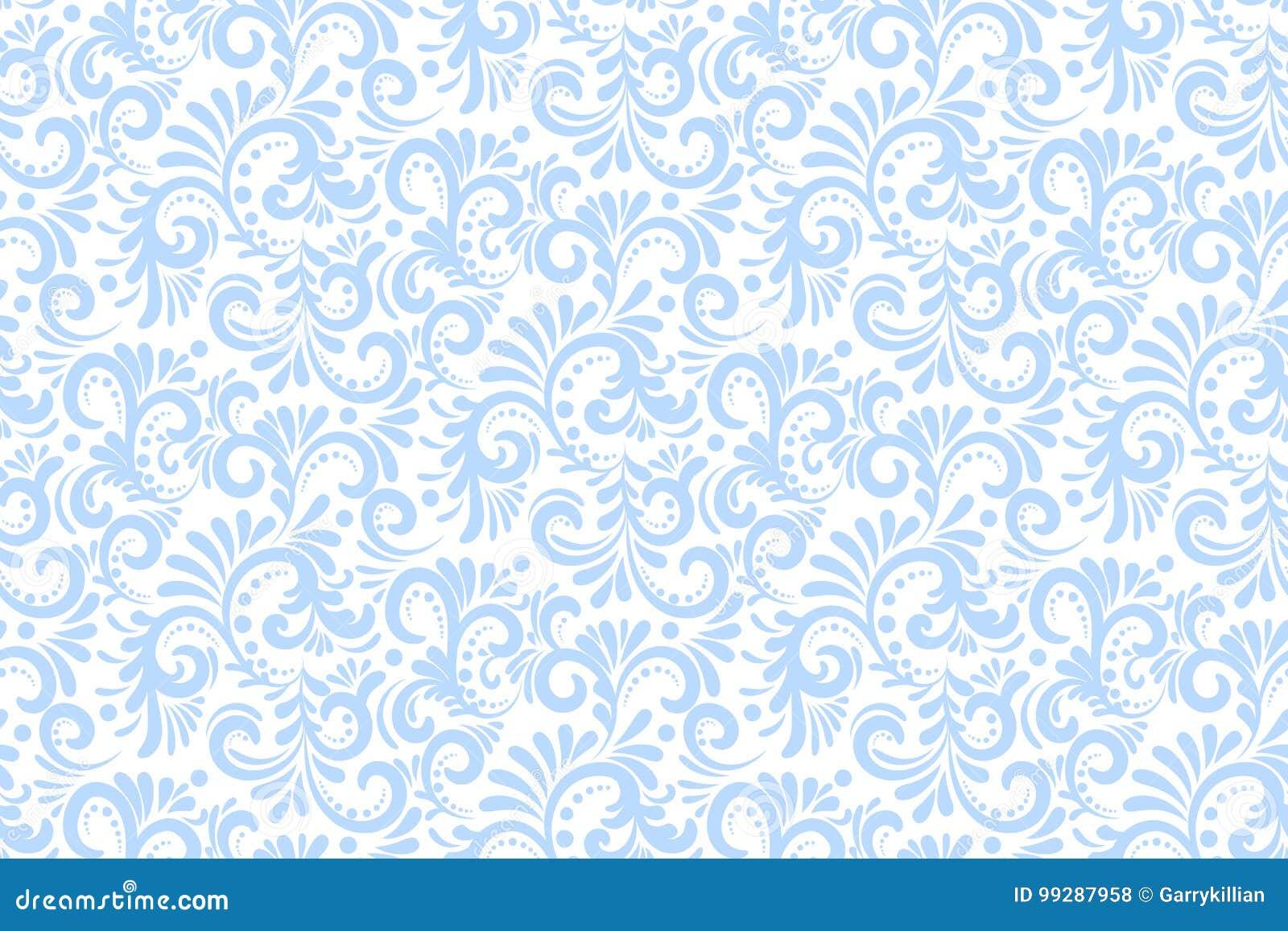 Nahtloser Musterhintergrund der Vektorblume Elegante Beschaffenheit für Hintergründe Klassisches altmodisches Luxusblumen