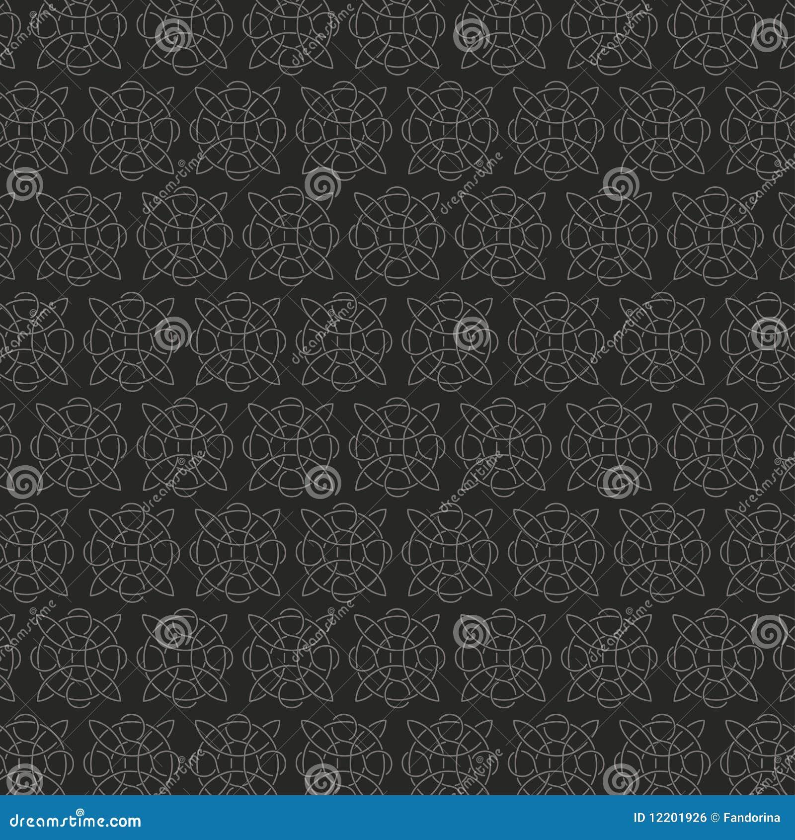 Nahtloses Muster der keltischen Verzierung
