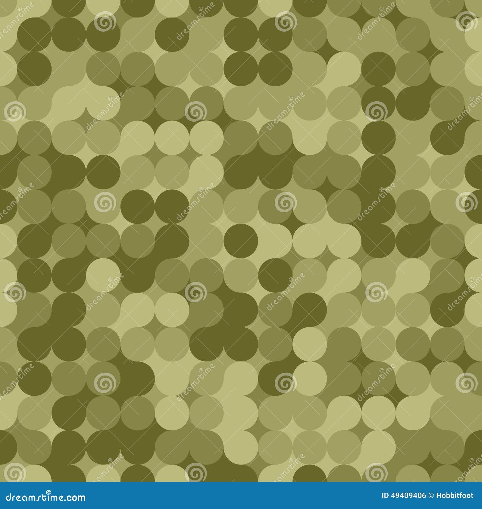 Download Nahtloses Muster Der Modernen Tarnung Vektor Vektor Abbildung - Illustration von material, auszug: 49409406