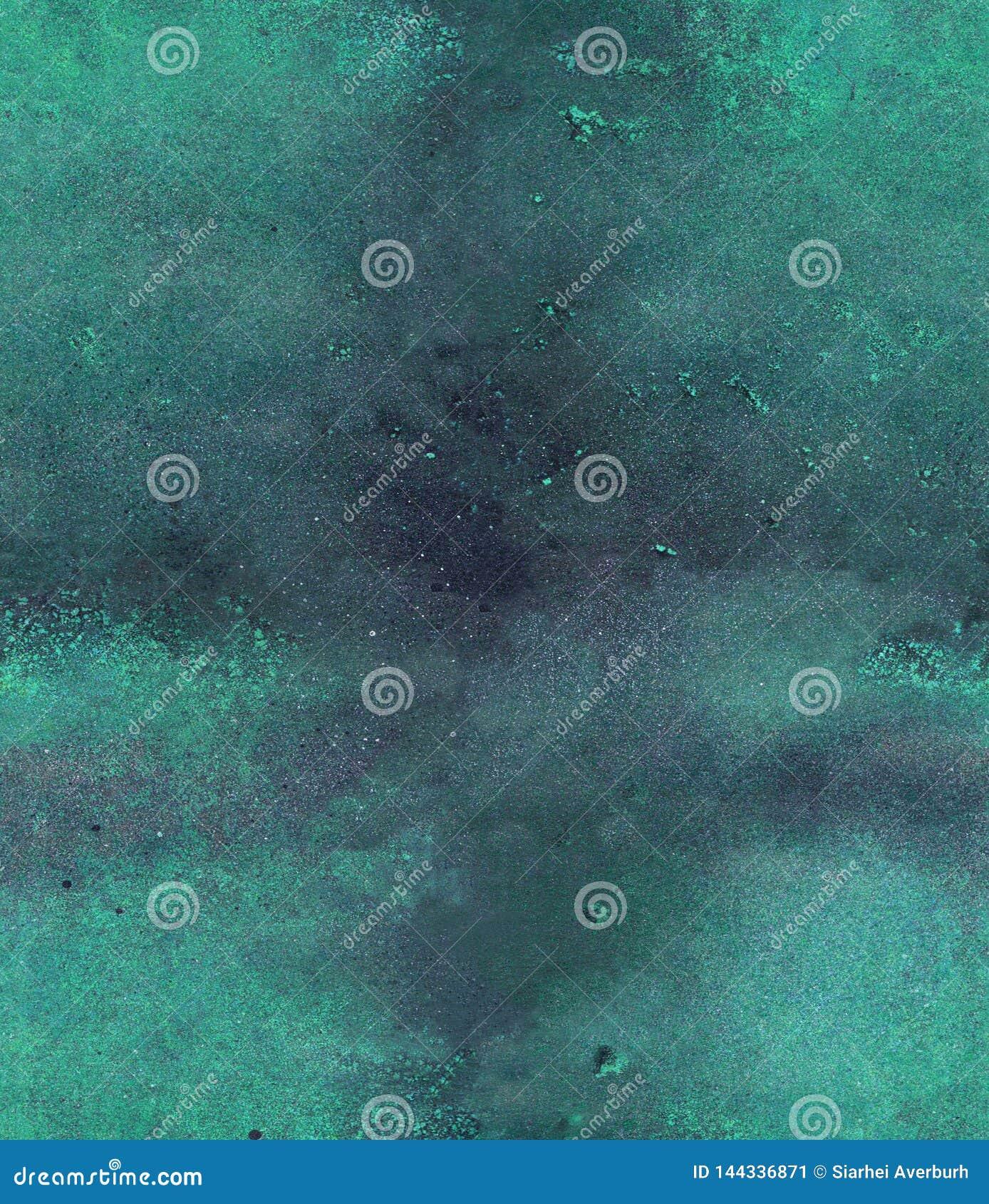 Nahtloses Muster des Aquarells, des acril und der Tinte
