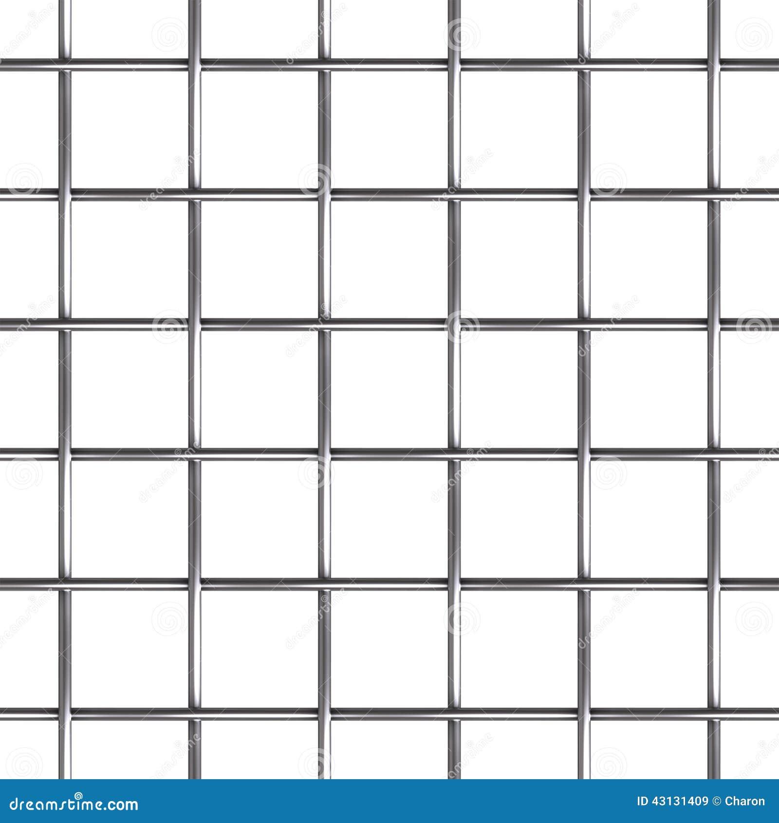 Nahtloses Muster Des Maschendrahts Stockbild - Bild von poliert ...