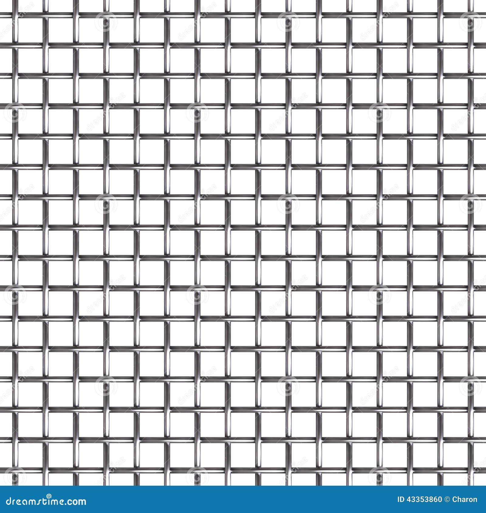 Nahtloses Muster Des Maschendrahts Stockfoto - Bild von horizontal ...