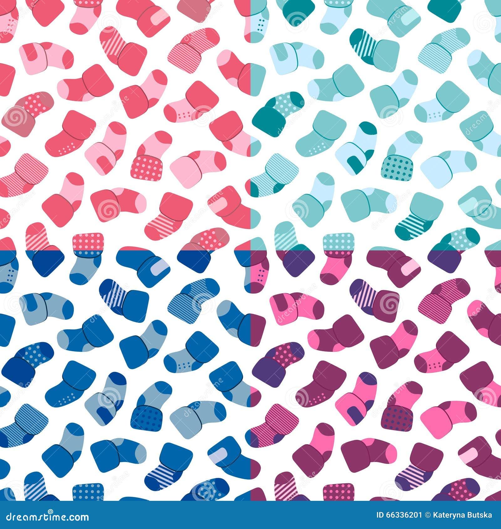 nahtloses muster des vektors eingestellt fr webdesign drucke usw das wiederholen des hintergrundes mit - Muster Fur Socken