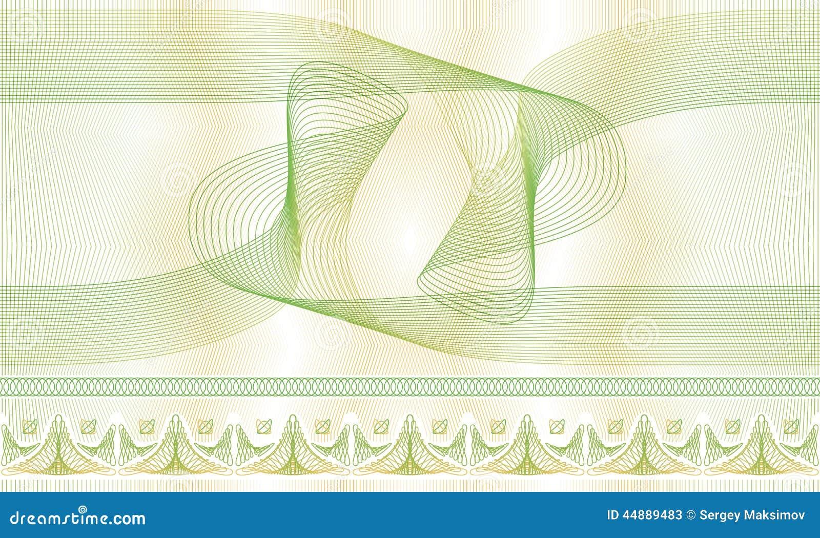 Nahtloses Muster, Hintergrund, Dekorative Guillocherosette Für ...