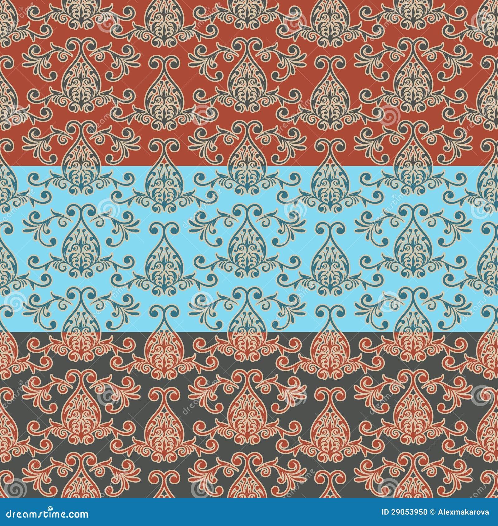Tapete Orientalisches Design : Oriental Seamless Pattern