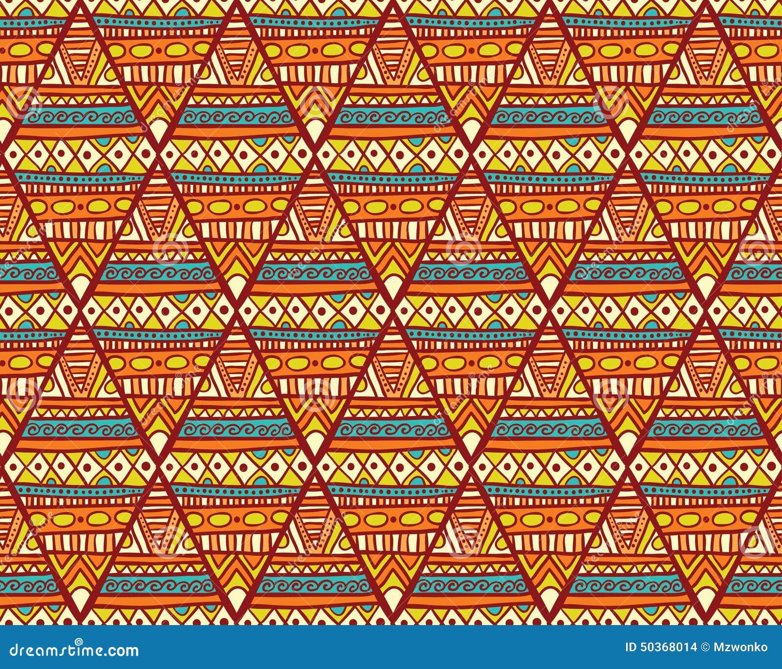Ethno Muster nahtloses romb ethno muster vektor abbildung - illustration von