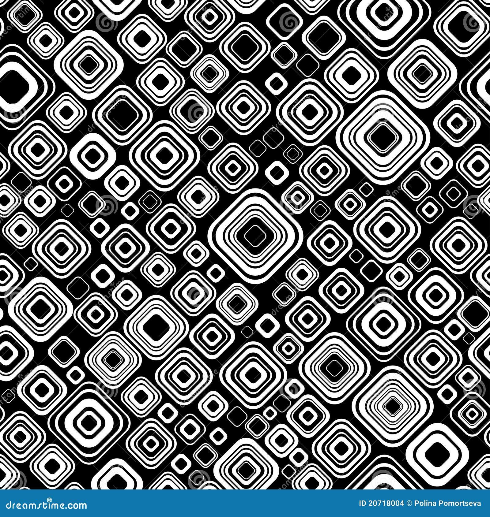 nahtloses schwarzweiss muster stockbilder bild 20718004. Black Bedroom Furniture Sets. Home Design Ideas
