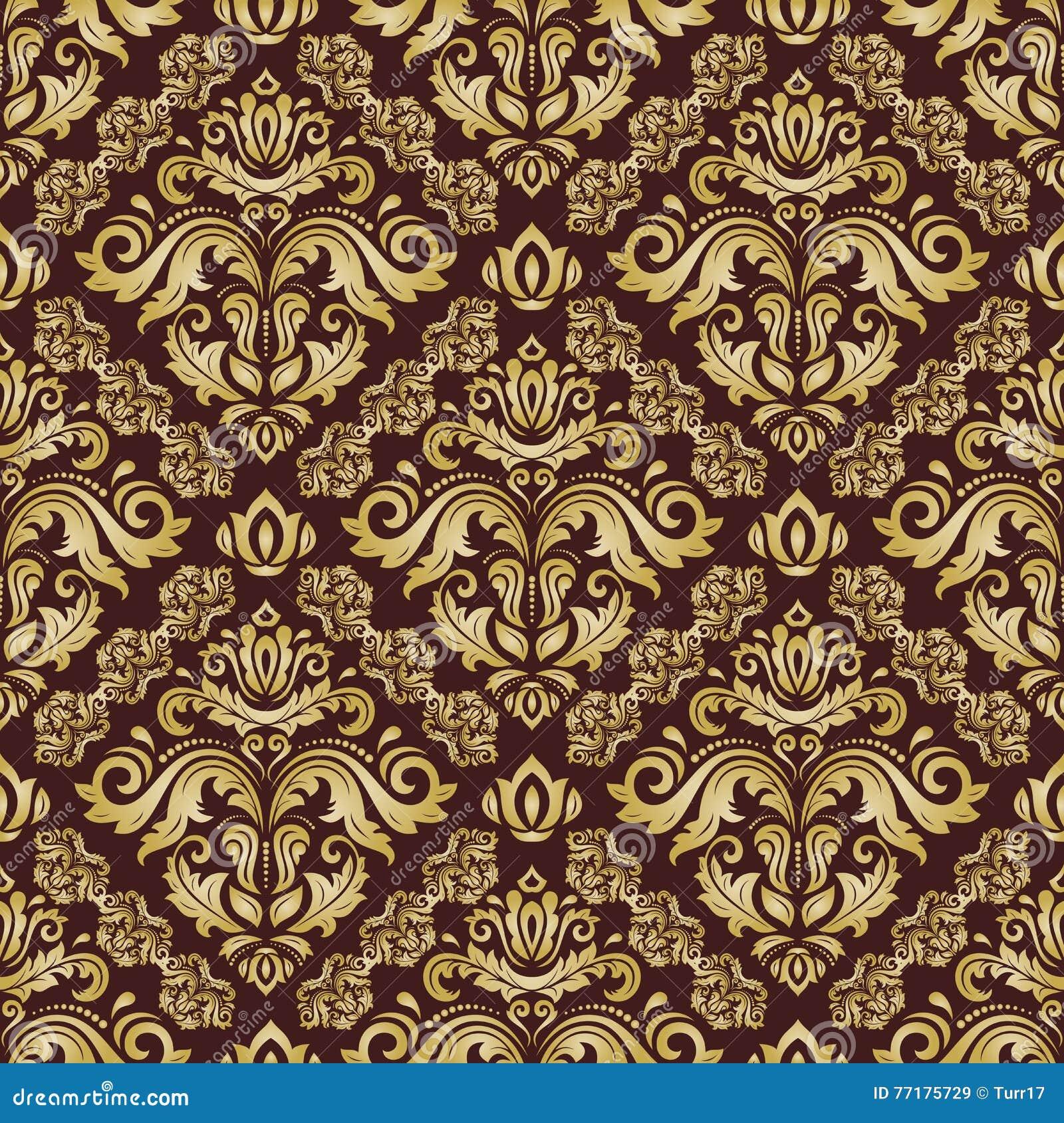 Vektorgrafiken Barock Muster Vektorbilder 3