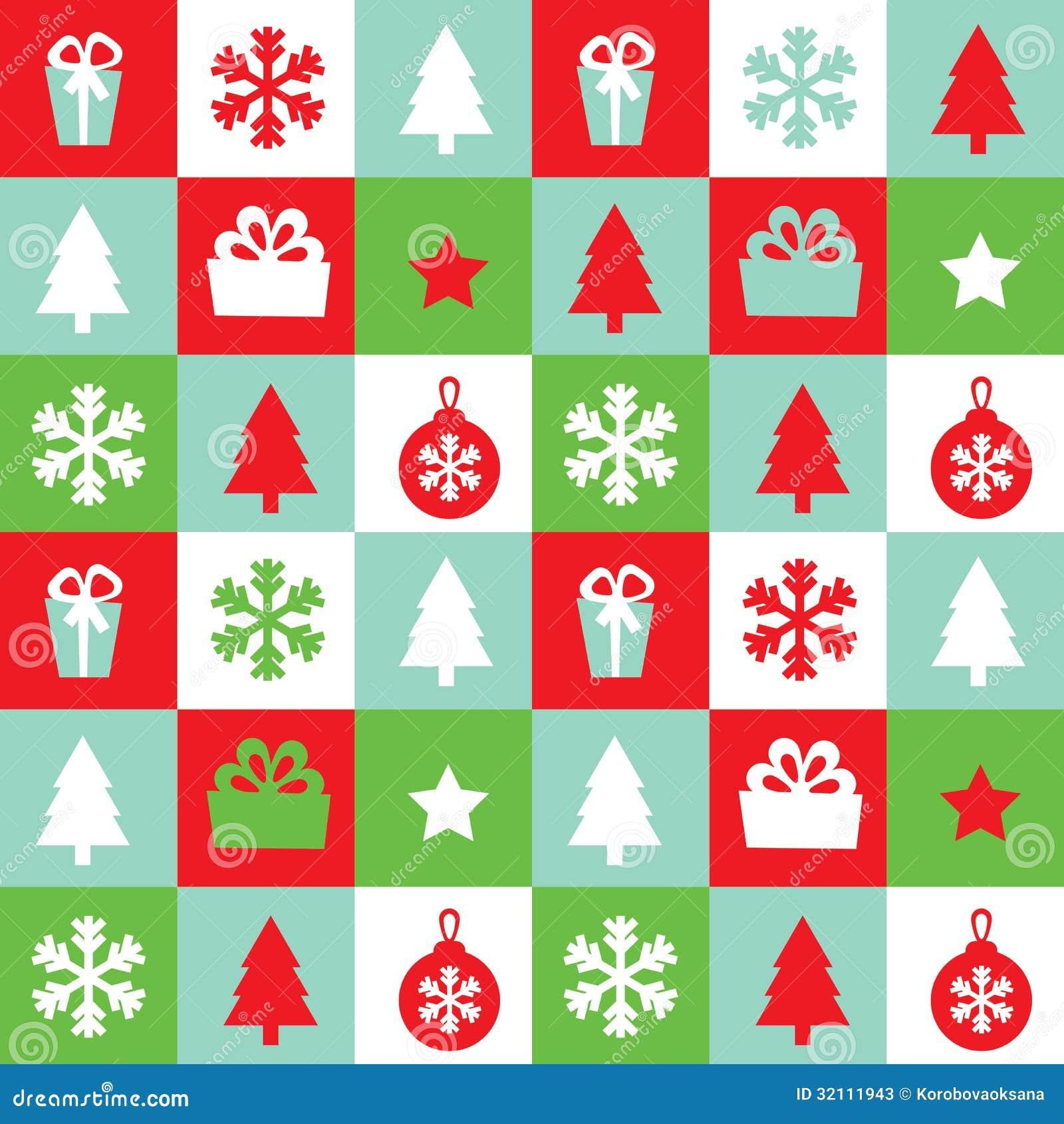 nahtloses weihnachten muster des vektors stockfotos bild. Black Bedroom Furniture Sets. Home Design Ideas