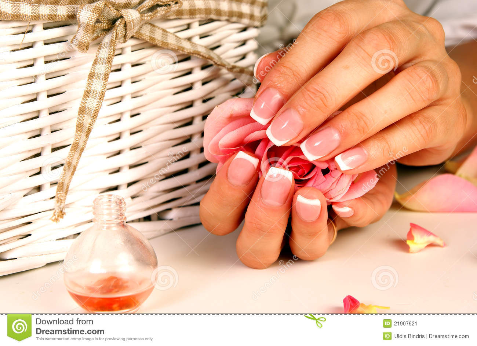 Nail Art Stock Image Image Of Adornment Application 21907621