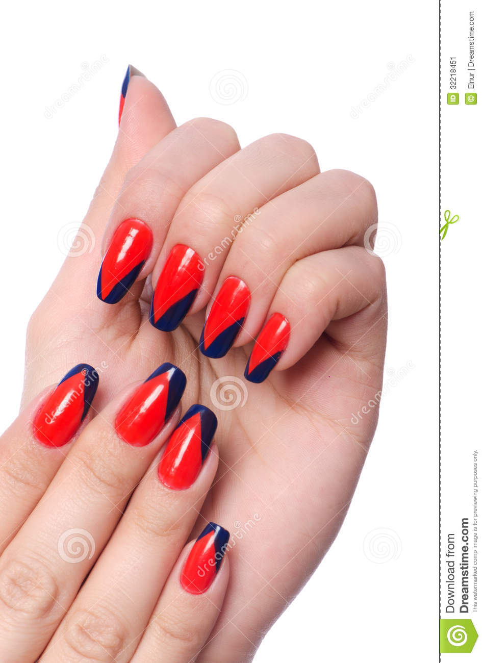 Pictures Of Nail Art Done By Hand How To Do A Hand Painted Nail Art