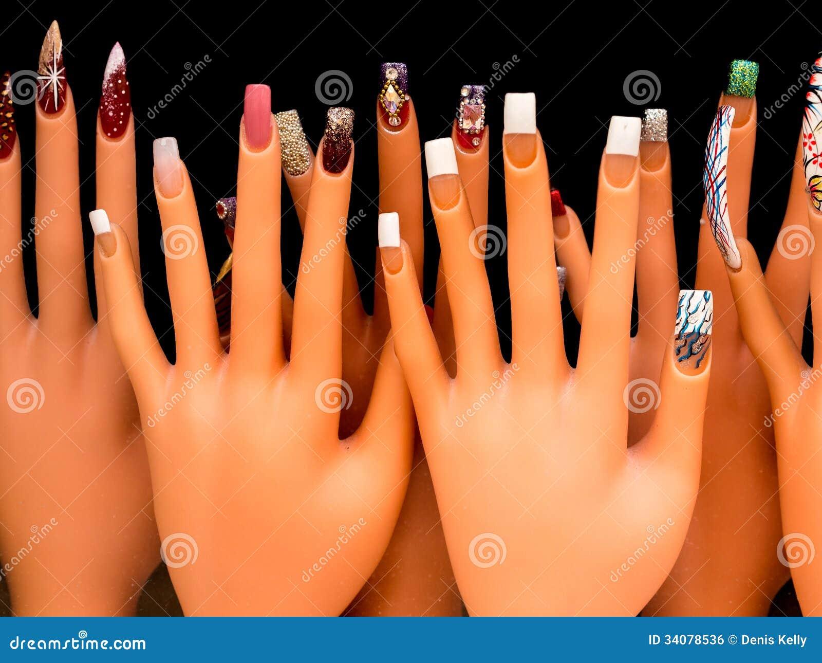 Nail Art stock photo. Image of beautiful, painted, manicure - 34078536