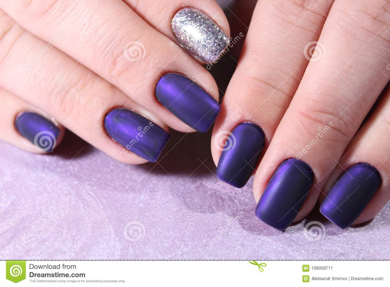 Nail Art Manicure Beauty Hands Stock Image Image Of Girl