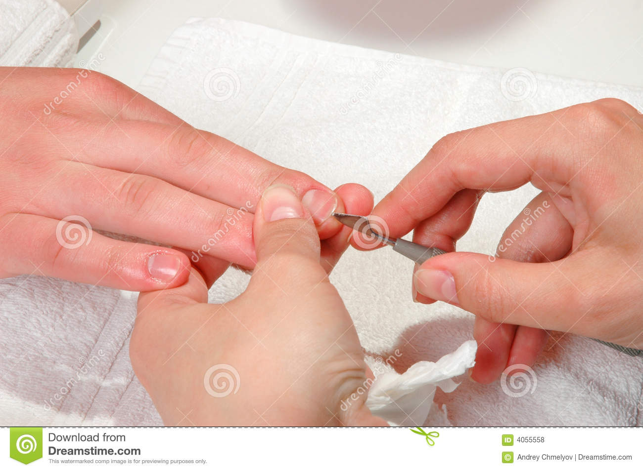 Nail Care Royalty Free Stock Photos - Image: 4055558
