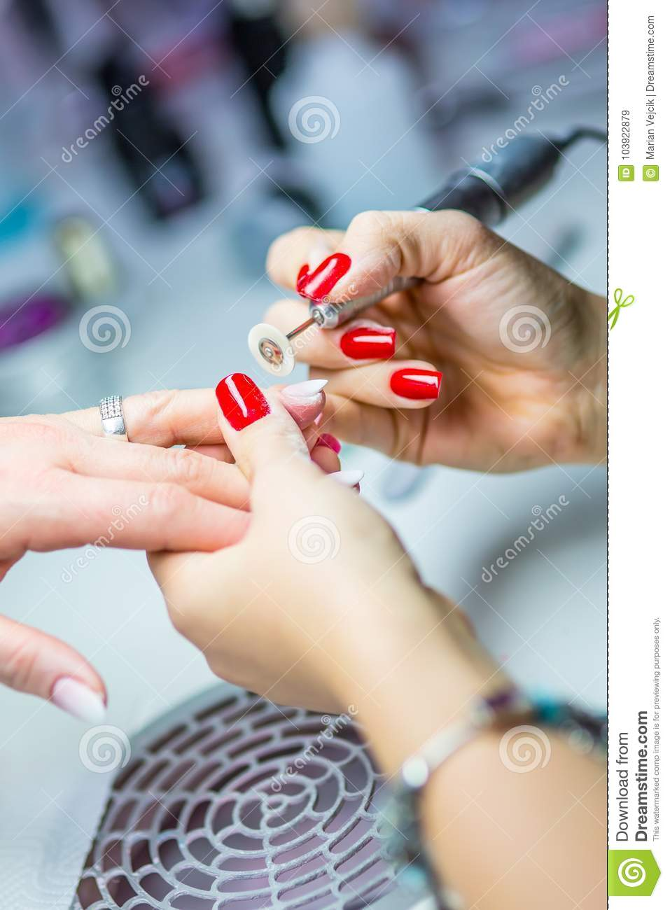 Nail Care And Manicure. Nail Care And The Techniques Of Gel Nail ...