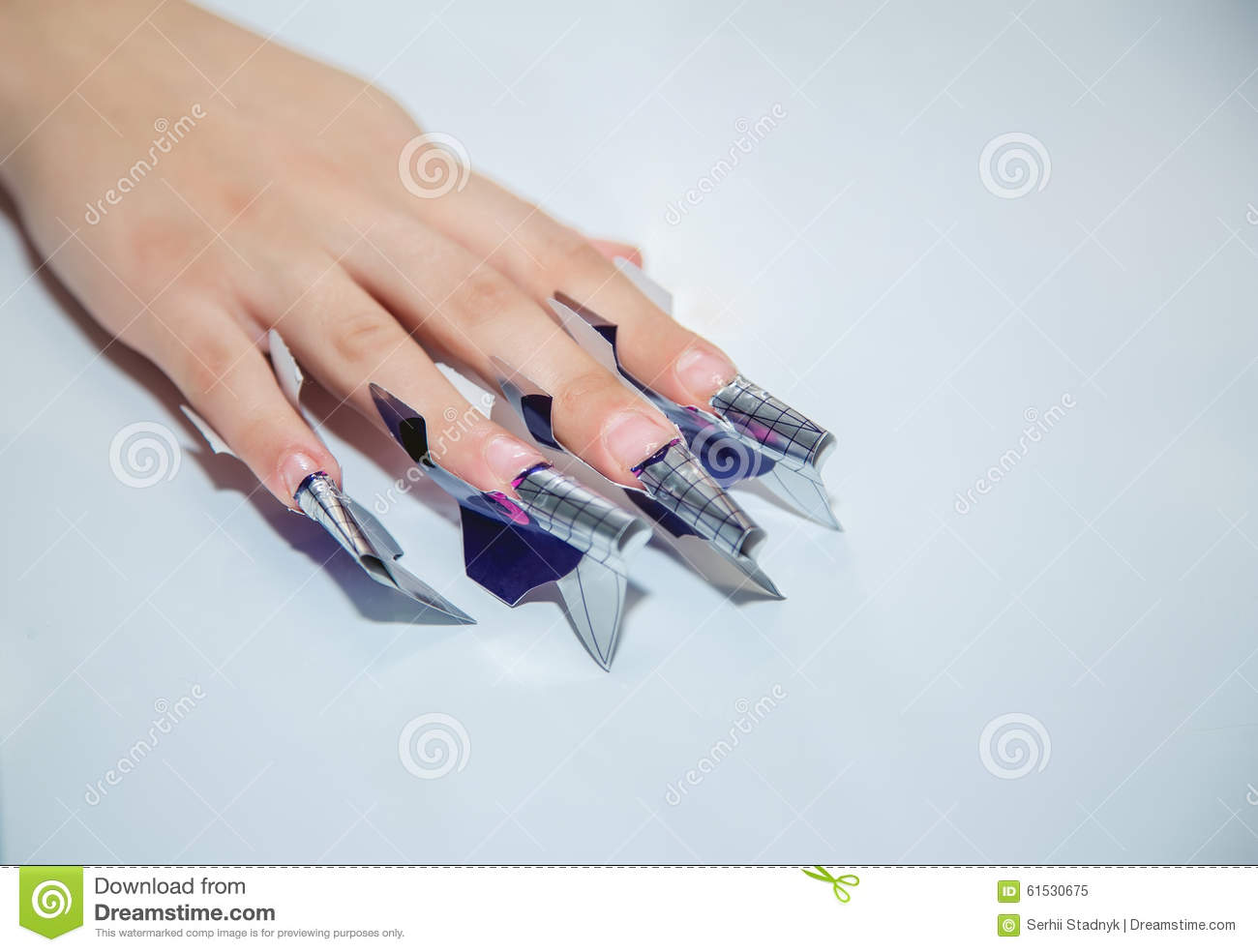 Nail creation the beauty salon stock image image 61530675 for A new creation salon