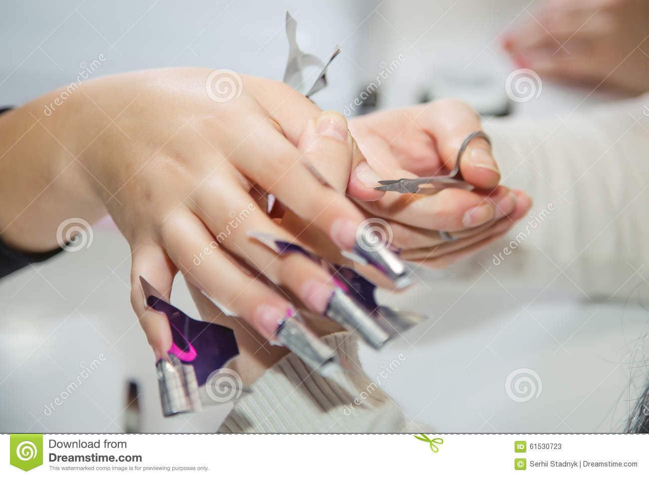 Nail creation the beauty salon stock photo image 61530723 for A new creation salon