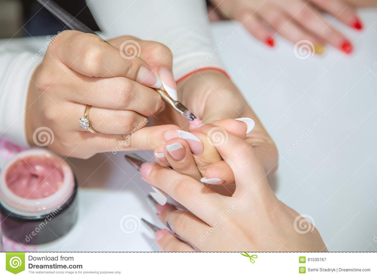 Nail creation the beauty salon stock photo image 61530767 for A new creation salon