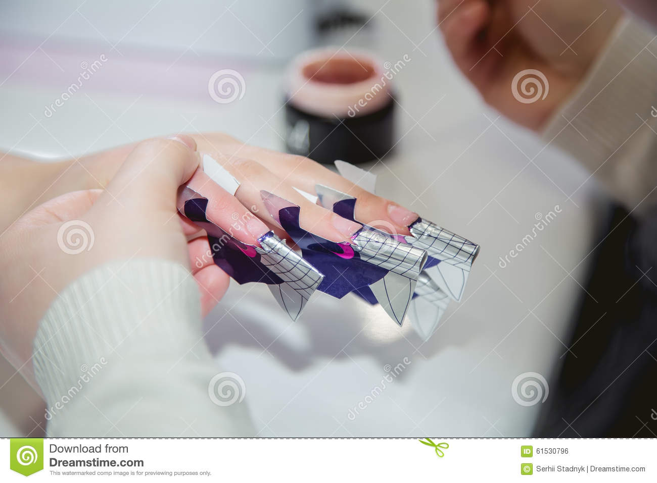 Nail creation the beauty salon stock photo image 61530796 for A new creation salon