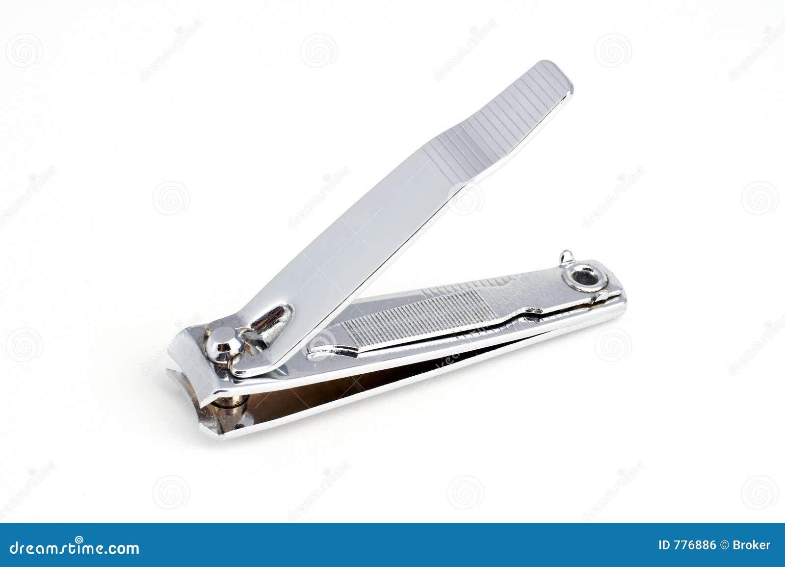 Nail cutter stock photo. Image of finger, nail, metal ...