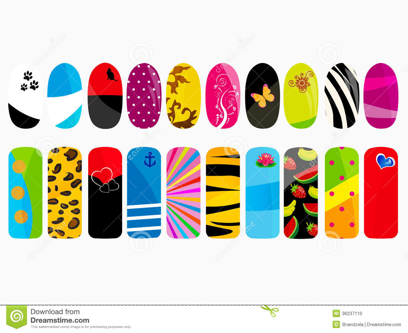 Nail Design Vector : Displaying gt images for fingernail icon