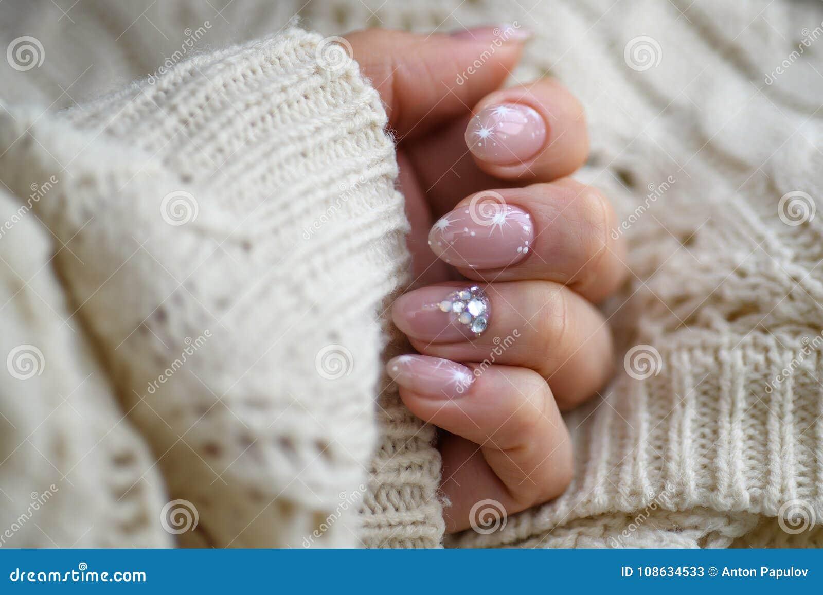Nail Polish Art Manicure Modern Style Blue Nail Polishylish