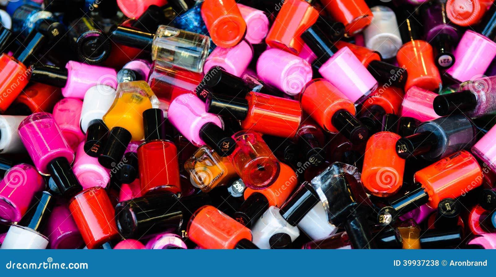 Nail polish stock photo. Image of inexpensive, closed - 39937238